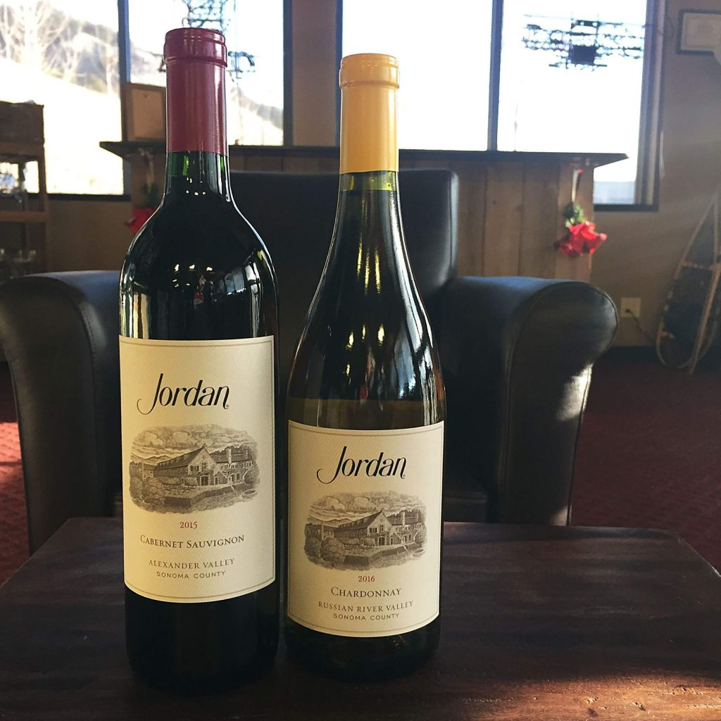 Both wine picks come from the Winery and Chateau at Jordan in the Alexander Valley in California. Wine writer Jeff Anderson stayed at the Chateau with his wife before they had kids and enjoyed his stay and the wines produced at Jordan.