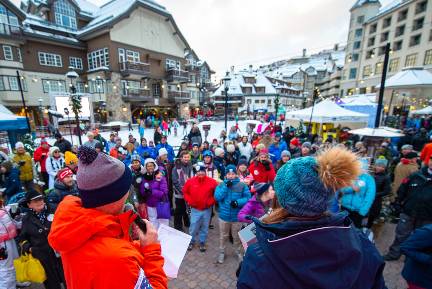 Free live music will take place on the main stage next to the Black Family Ice Rink in Beaver Creek Village.