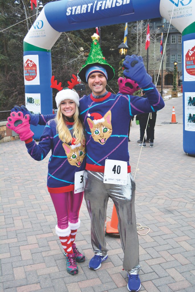 Vail Holidays marks the kick-off to the holiday season with arts and crafts, ice skating, Santa visits, a tree lighting ceremony and the annual Ugly Sweater Holiday 5k Fun Run.