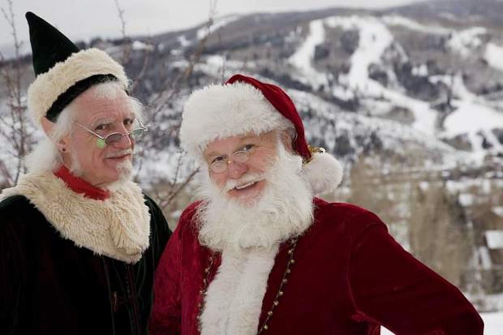 Santa and Ralph, the World's Tallest Elf, will be in Riverwalk to meet with the kids at the Rivewalk Theater and do a Santa Story Time at the Bookworm of Edwards on Saturday.