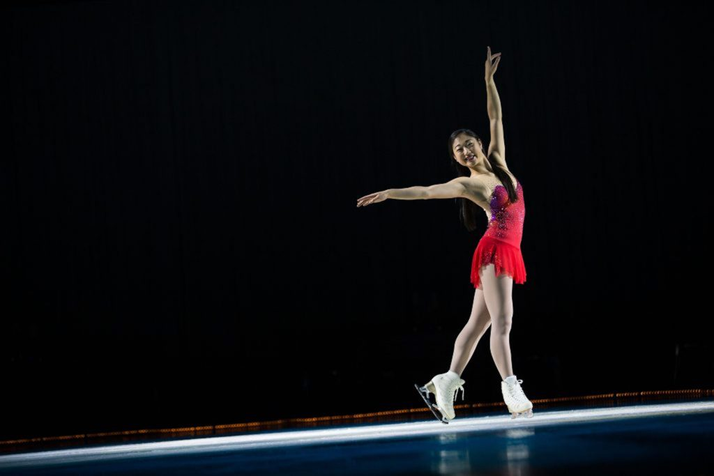 Figure skater Mirai Nagasu is an Olympic medalist. She will perform in Vail as part of the Vail Skating Festival this weekend.