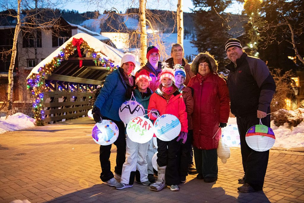 Art in Public Places also hosts the annual Lantern Walk, where kids and adults alike design their own paper lanterns to parade around Vail Village.