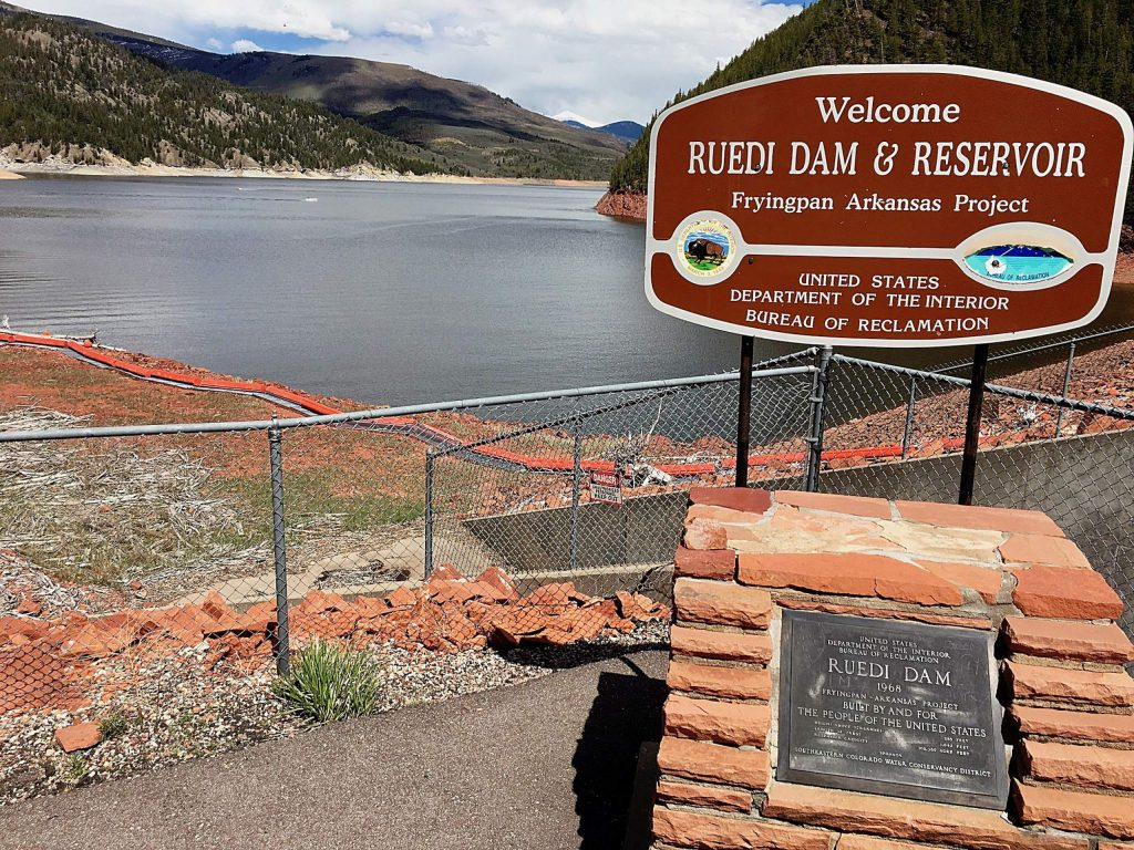 The Colorado River Water Conservation District owns water in Ruedi Reservoir. River District directors are considering whether to put a tax increase question to voters this November.
