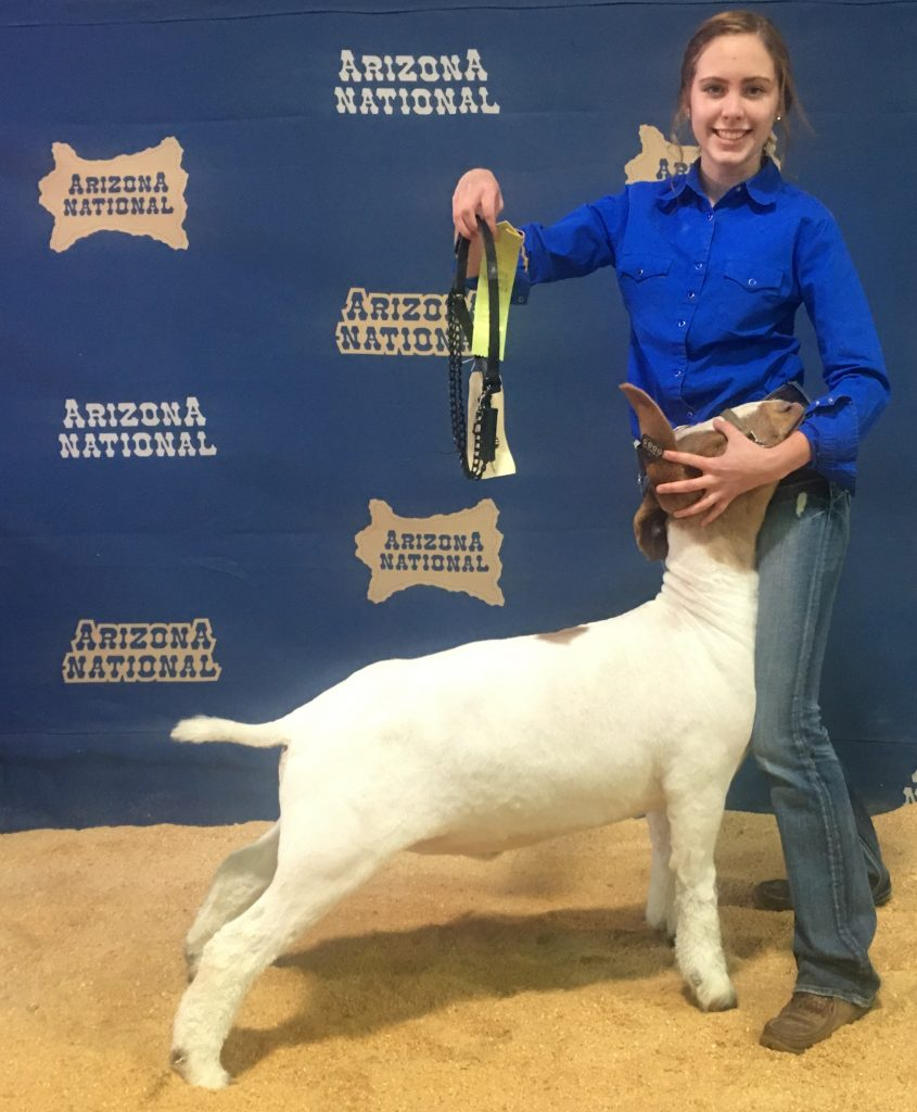 Sometimes they win, as Faythe Eichler did at a show in Phoenix.