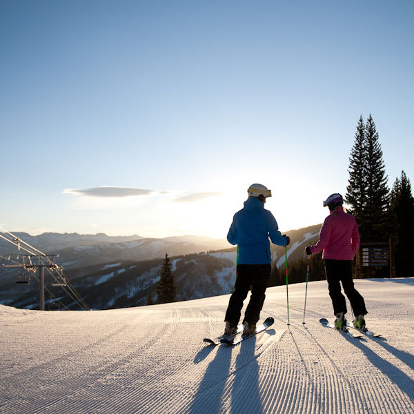 The early birds get the slopes all to themselves at Beaver Creek's First Tracks. Enjoy the slopes before anyone else is out there and warm up with breakfast at Allie's Cabin after a few runs.