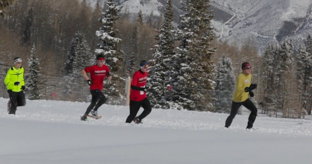 The Beaver Creek Running Series: Snowshoe Edition 10k and 5k race happens this Sunday at Creekside Park.