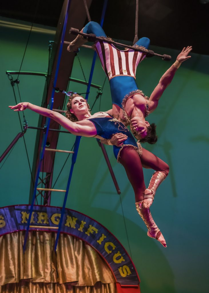 "Treat the family to circus fun at the Vilar Performing Arts Center as Cirque Mechanics returns to the stage with its latest production, ""42 Ft – A Menagerie of Mechanical Marvels"" at 7 p.m. on Saturday."