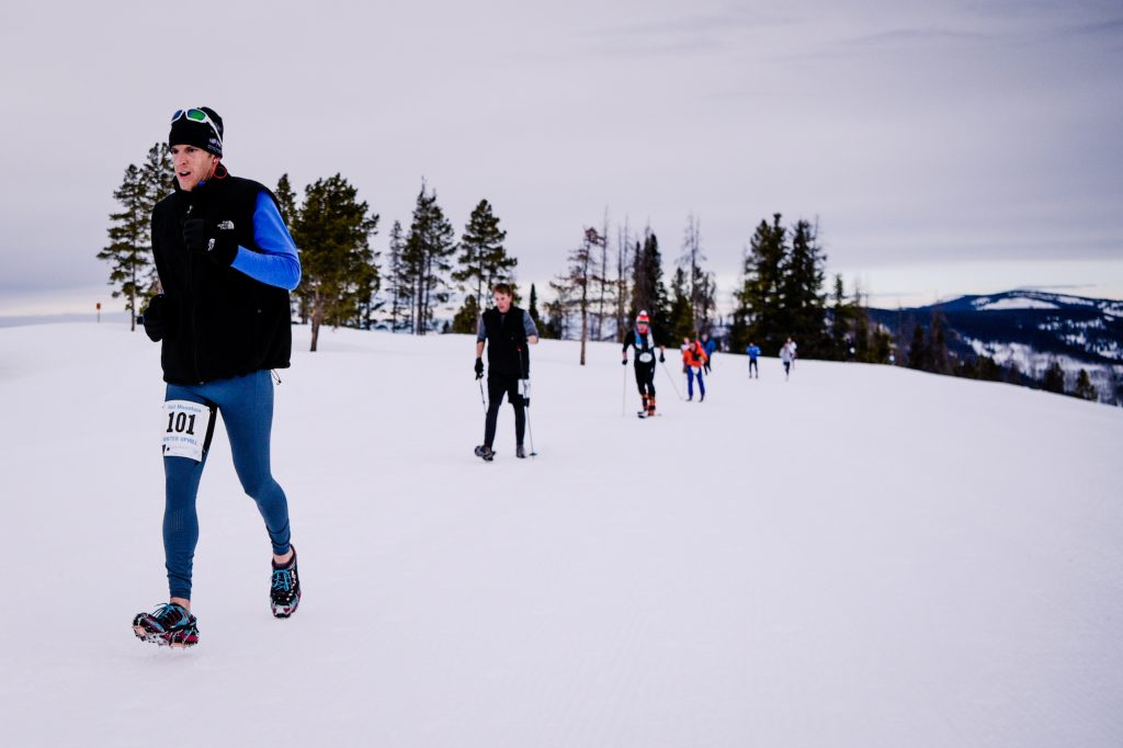 Participants in last year's Vail Uphill Race scale the mountain on anything from snowshoes, skis, splitboards or winter running devices. The Vail Recreation District brings their winter race series to Beaver Creek on Sunday.