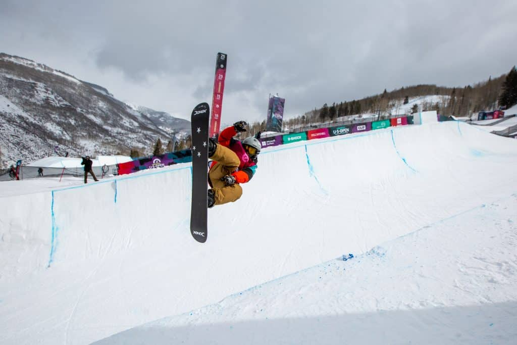 Cam Melville Ives, 13, from Breckenridge, took 3rd in the Boys Junior Jam Halfpipe competition.