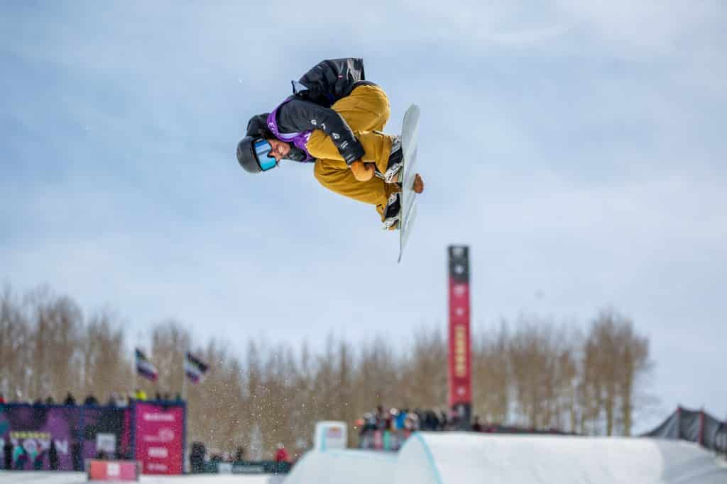 Ryan Wachendorfer from Vail competes in the Halfpipe Semi-Finals but will not compete on Saturday.