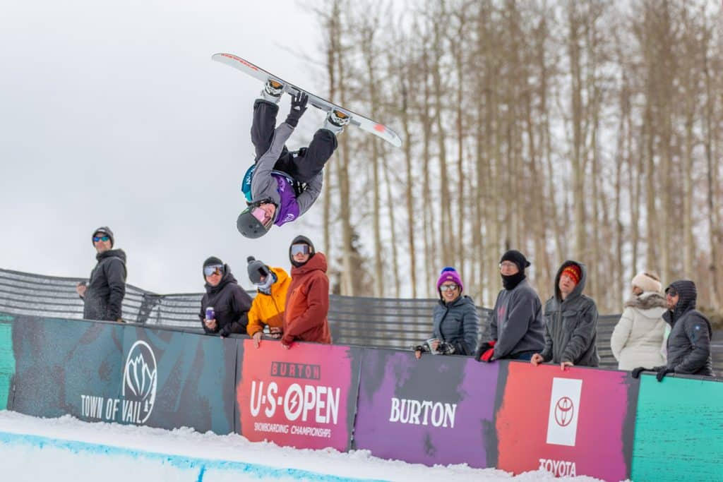 Jack Coyne from Edwards competed in the Men's Halfpipe Semi-Finals Thursday.