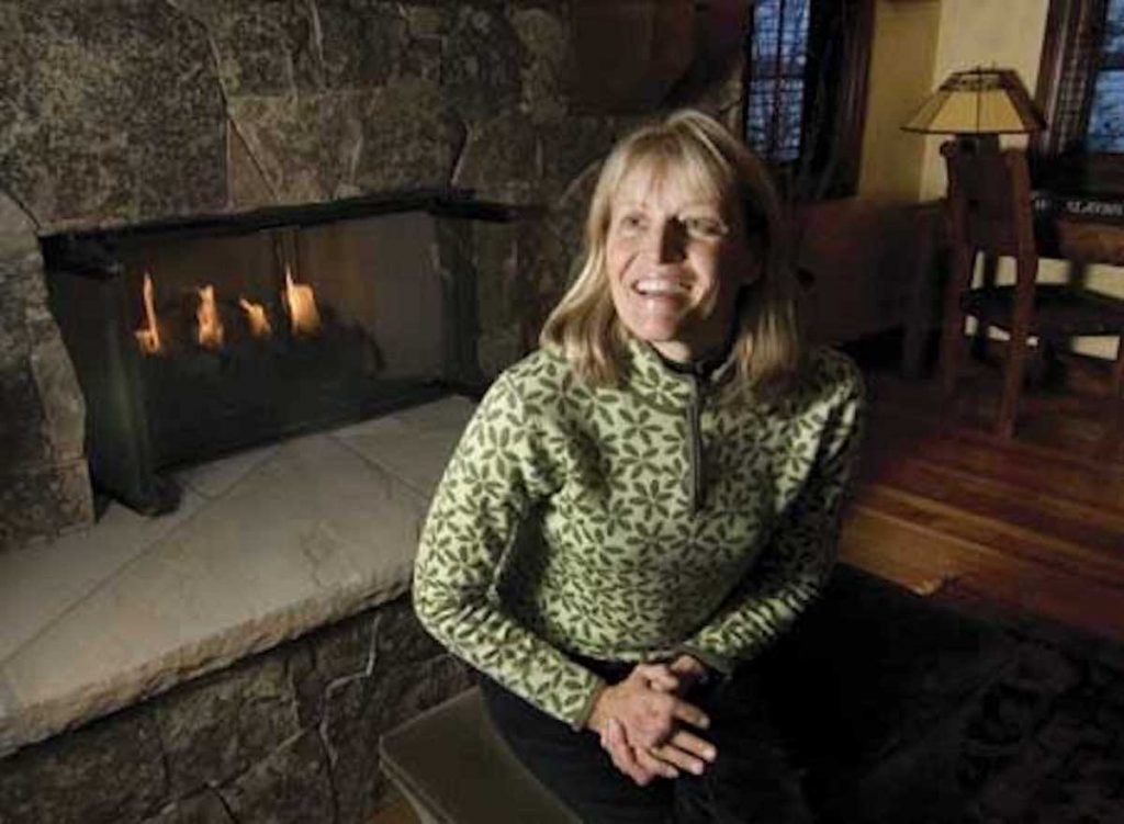Cheryl Jensen won this year's Women In Industry Award from the U.S. Ski and Snowboard Hall of Fame. Among other things, Jensen founded the Vail Veterans Program and SWAG, Sharing Warmth Around the Globe.