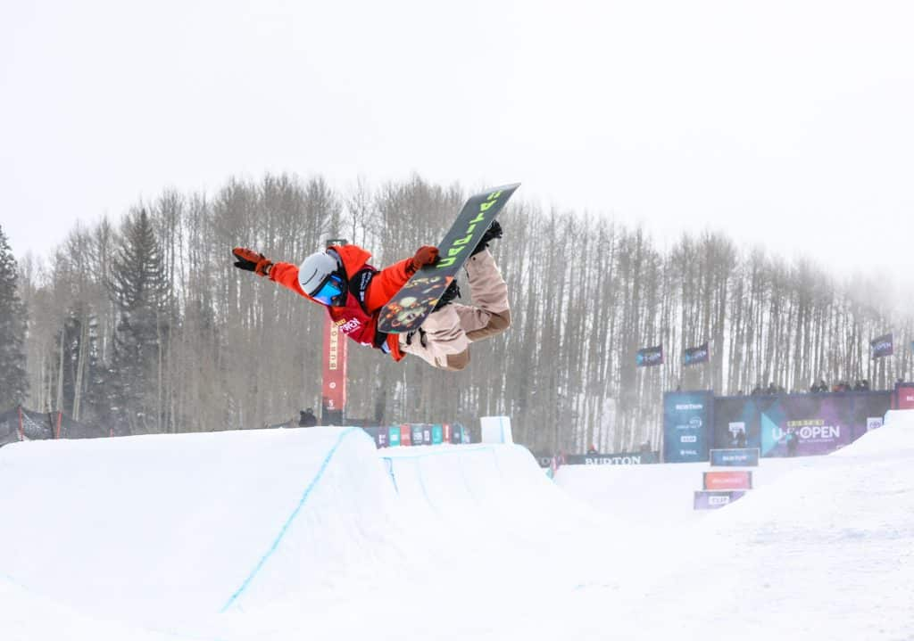Edward's Beckett Depriest throws a method during the Burton US Open Junior Jam Tuesday in Vail. It was Beckett's first Junior Jam appearance.
