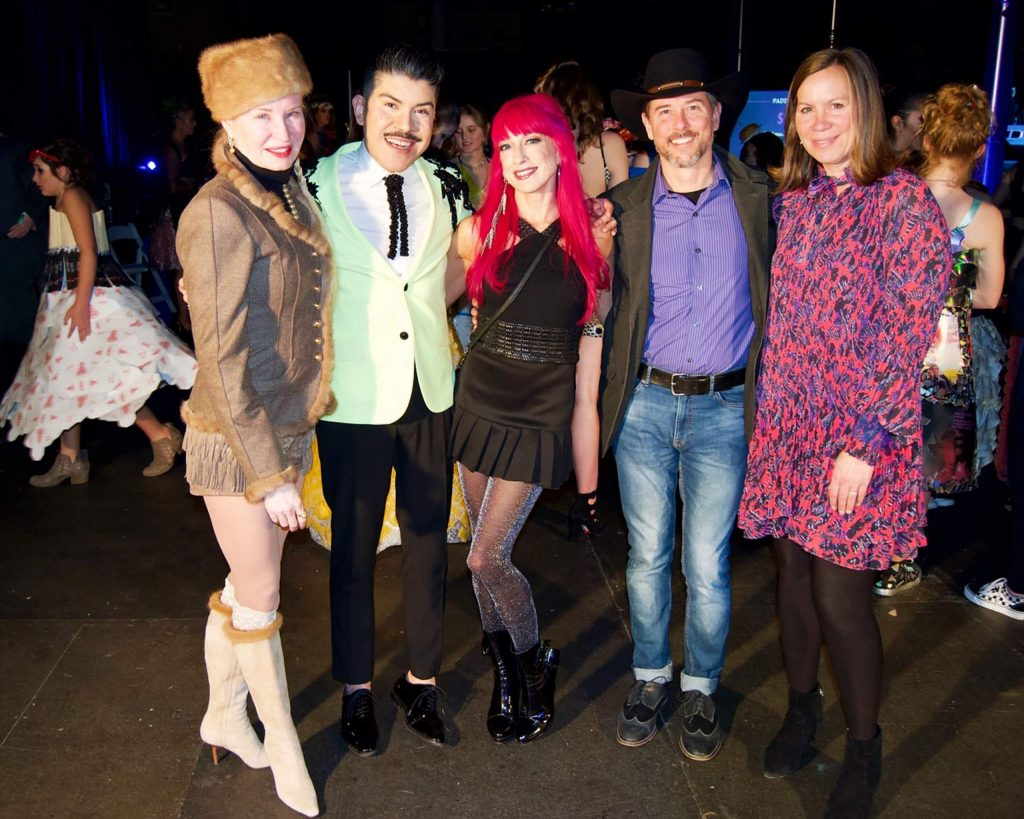 The Project Funway judges for 2020 were, from left, Doe Browning, Mondo Guerra, Heather Hotard, Matt Scherr and Laurie O'Connell.