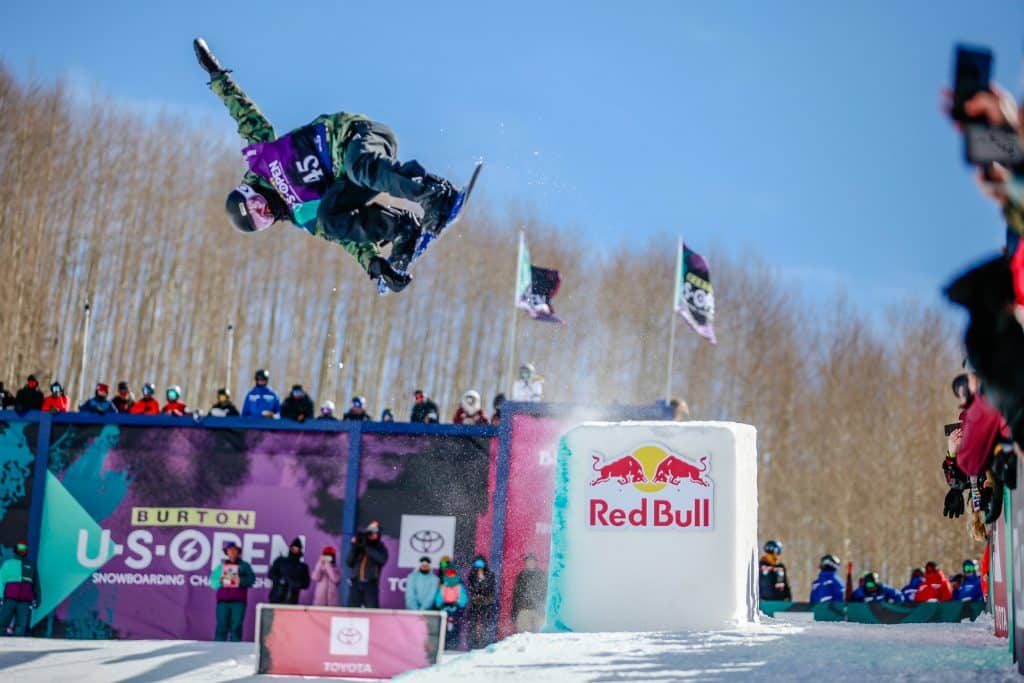 Kaishu Nakagawa during the mens halfpipe semifinals for the Burton US Open in Vail.