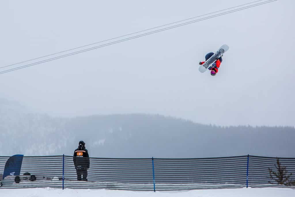 Darcy Sharpe qualified 2nd in Men's Slope-style at Burton US Open, Wednesday, in Vail. Finals are Friday.