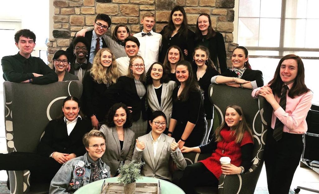 Battle Mountain sent a huge and successful squad to last weekend's state speech meet.