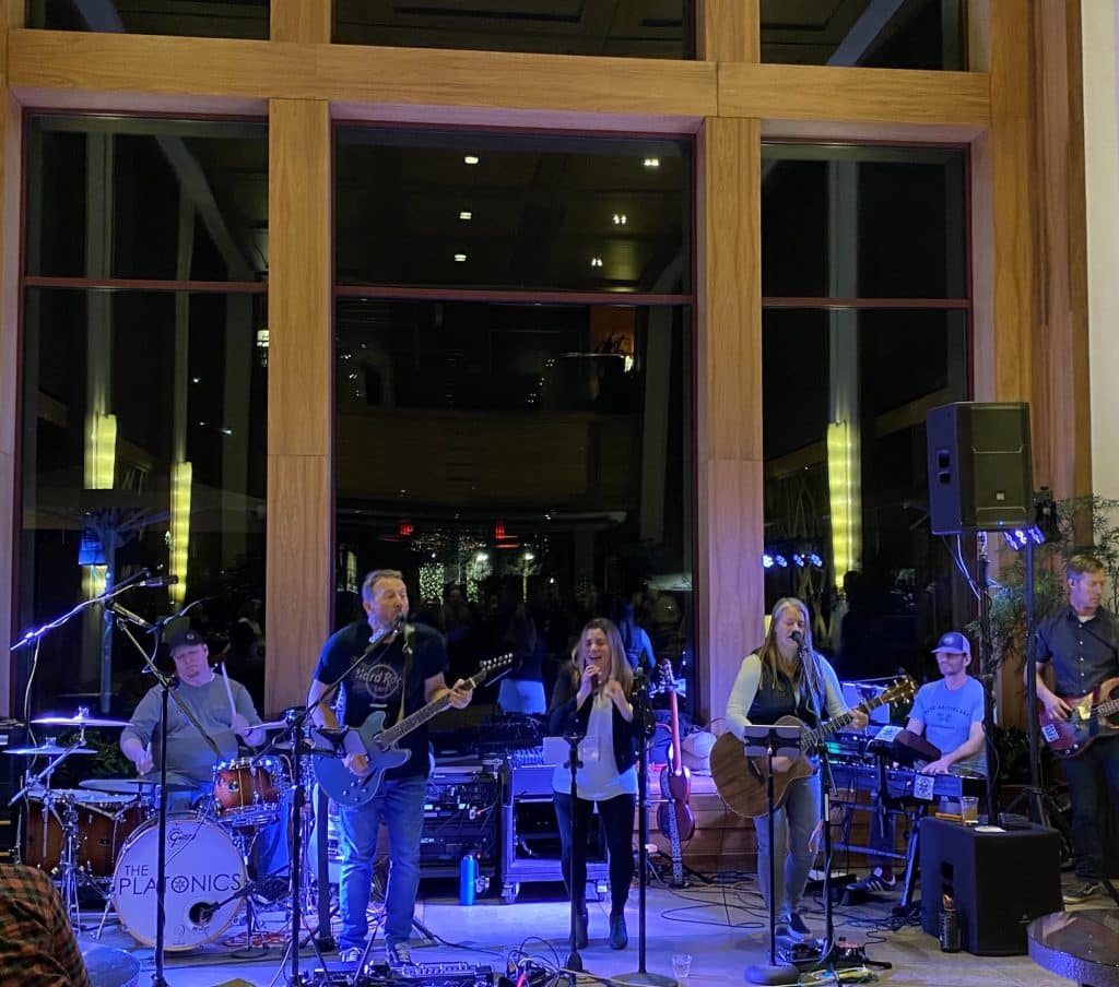 The Platonics out of Eagle rocked the Westin Riverfront Resort and Spa last winter during Friday Afternoon Club. This Friday, enjoy taco and drink specials and live music by Robby and the Peoples.