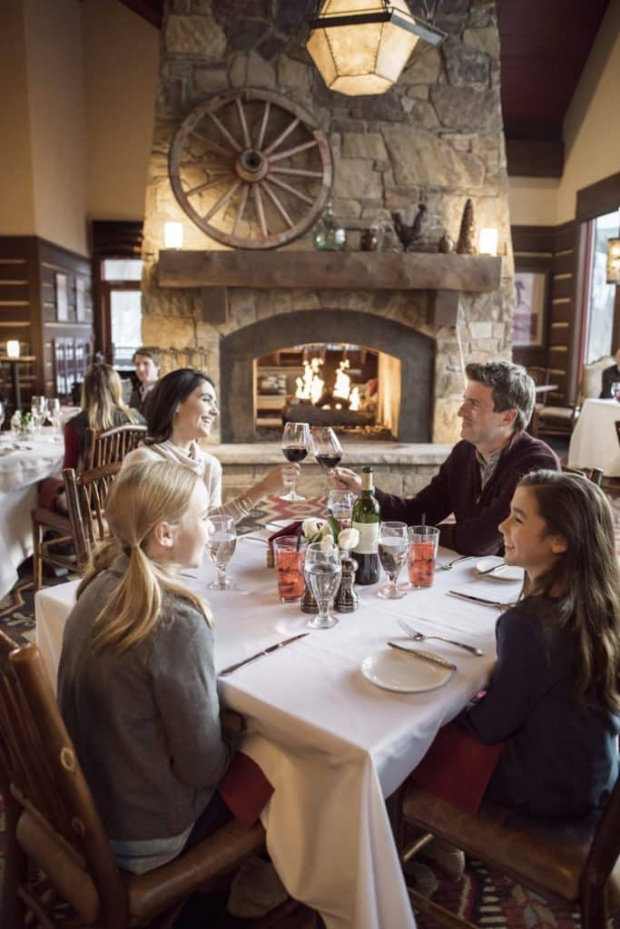 Arrive to dinner via an open-air sleigh driven by a snow cat. Allie's Cabin at Beaver Creek offers family dinners on select nights throughout the week.