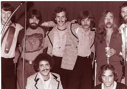 Along with other Hall of Fame musicians, Rod Powell jammed with The Doobie Brothers.