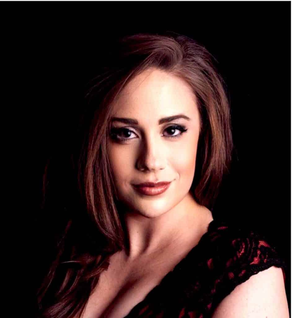 Alexandra Trosper's second job is more interesting than most. Besides teaching at Battle Mountain High School, she's a professional opera singer.