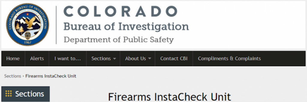 The Colorado Bureau of Investigation's wait time for a background check in a firearm sale can take four days, instead of the eight minutes it usually does. The CBI says its requests are up 227%.
