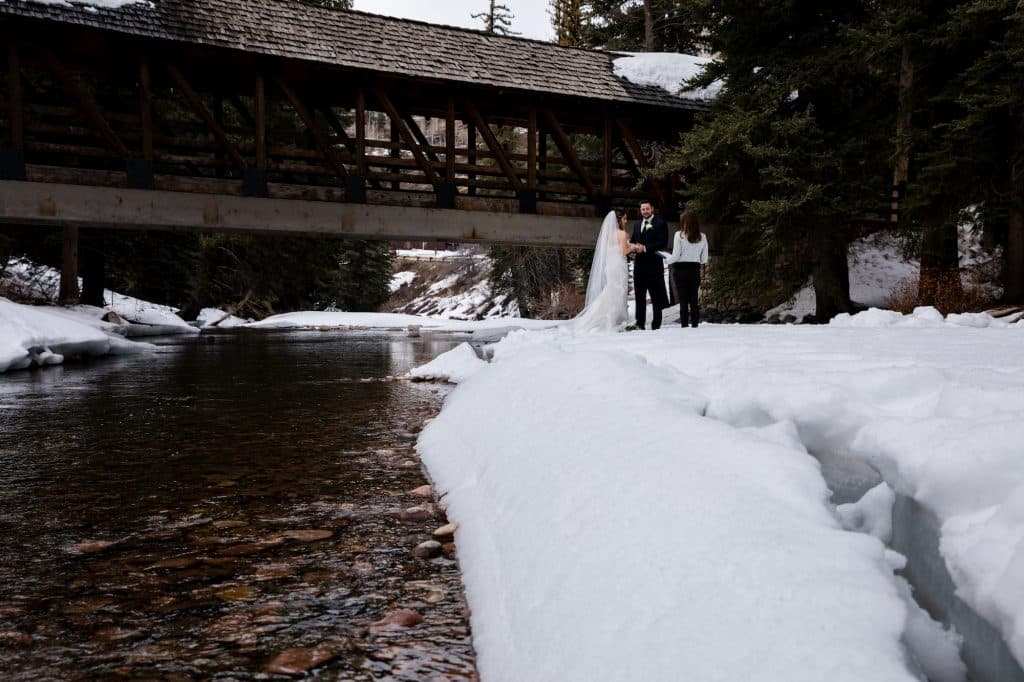 At Christmastime, Todd Mitchell and Megan Carmichael planned to elope in Vail in March and decided to carry out their plan despite the coronavirus.