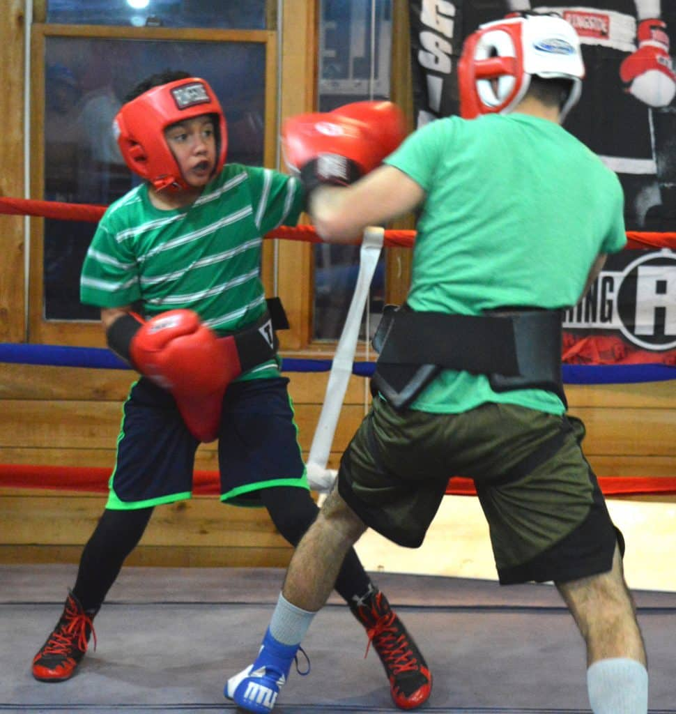 David Muruato won a Golden Gloves gold and silver last year. The 9-year old will defend his title next week.