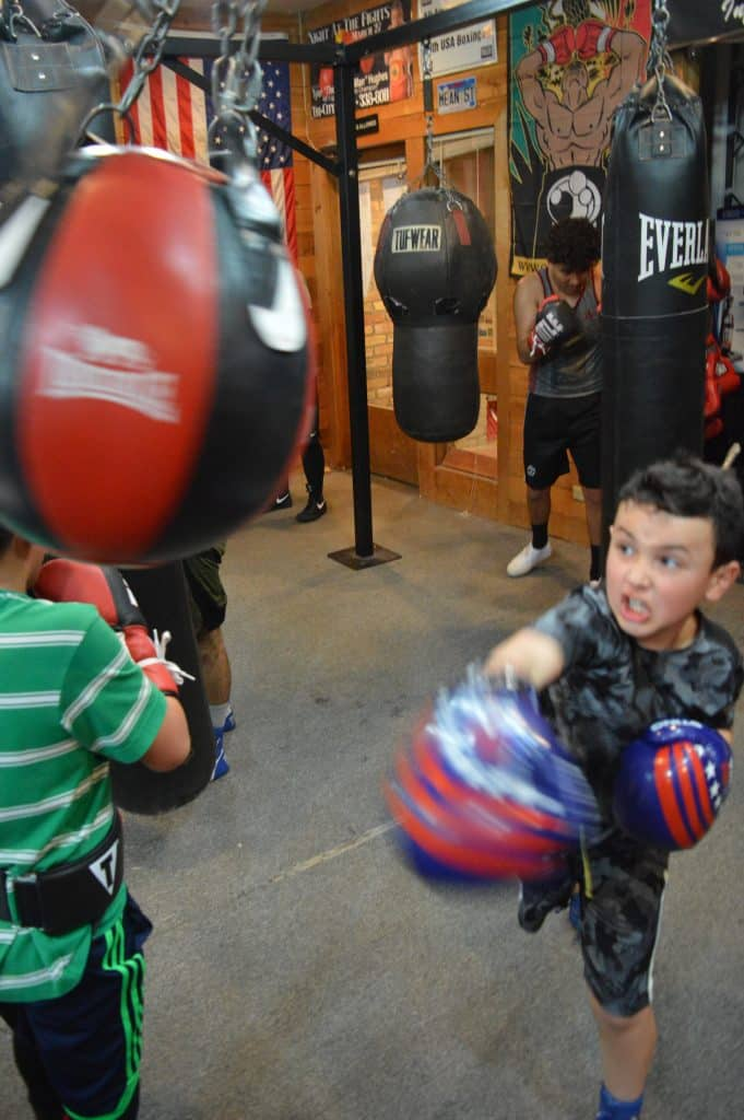 Leonardo Chavira is a newcomer and will have his first bout in the state Golden Gloves tournament.