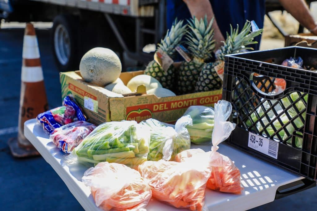 Along with sandwiches and milk, local seniors can get fresh produce through the Eagle County Schools grab and go lunch program.
