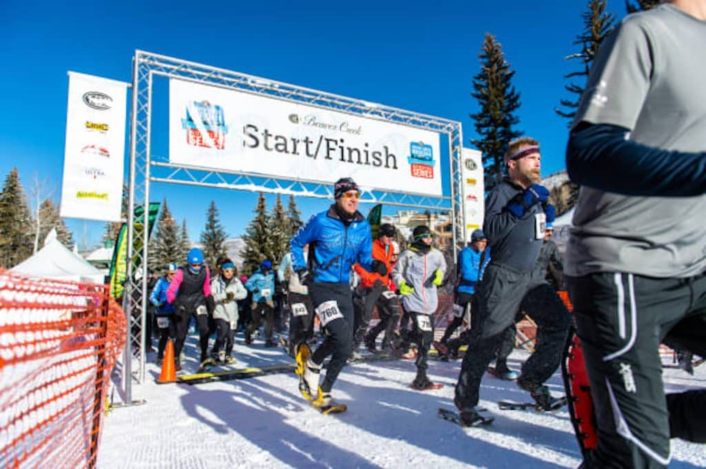The last snowshoe race of the season takes place this Sunday in Beaver Creek. The race venue is at McCoy Park and offers a 5k and a 10k race and an after party in Beaver Creek Village.