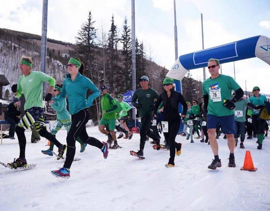 The 9th annual Shamrock Shuffle welcomes all to wear green to the 10k, 5k and kids 1k on Saturday at the Vail Nordic Center.