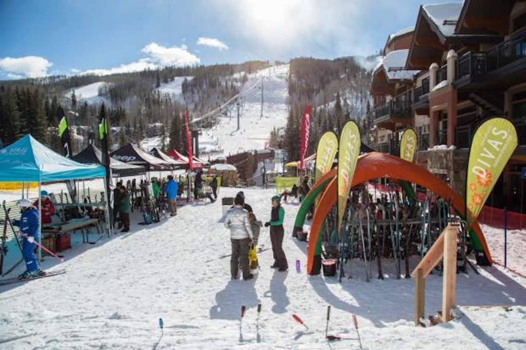 A free women's ski demo day is planned for Saturday at the base of Lionshead from 9 a.m. to 2:30 p.m.