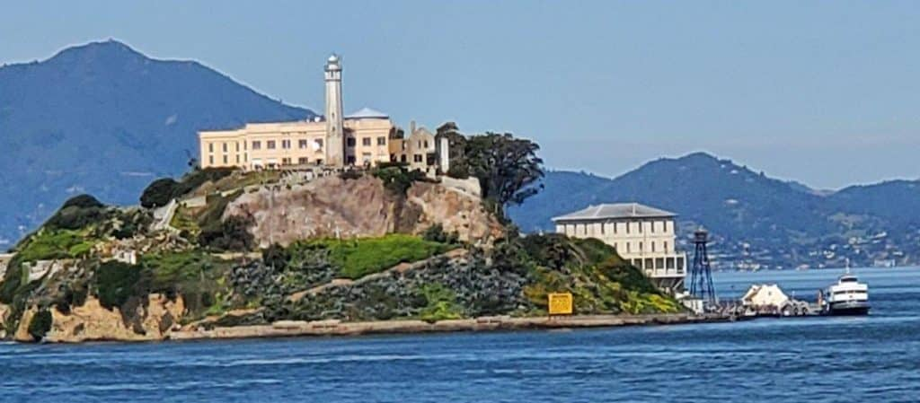 They also had a view of Alcatraz. Out their window, Bonnie and Buddy had a view of the Oakland docks.