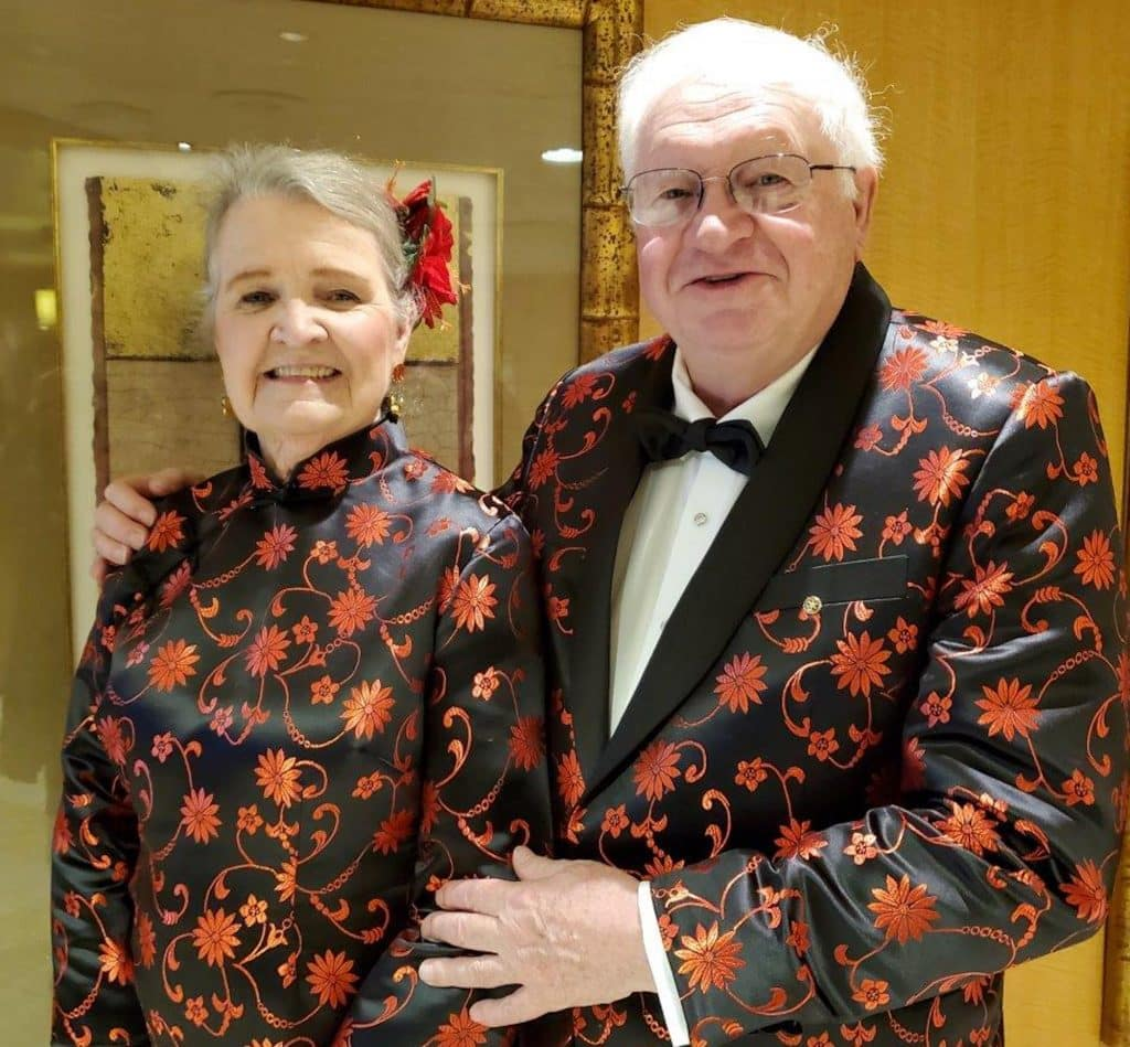 So far, Bonnie and Buddy Sims have shown no symptoms of coronavirus. After being in quaratine of the Grand Princess cruise ship, they'll be in quarantine for two more weeks at Marine Corps Air Station Miramar in San Diego.