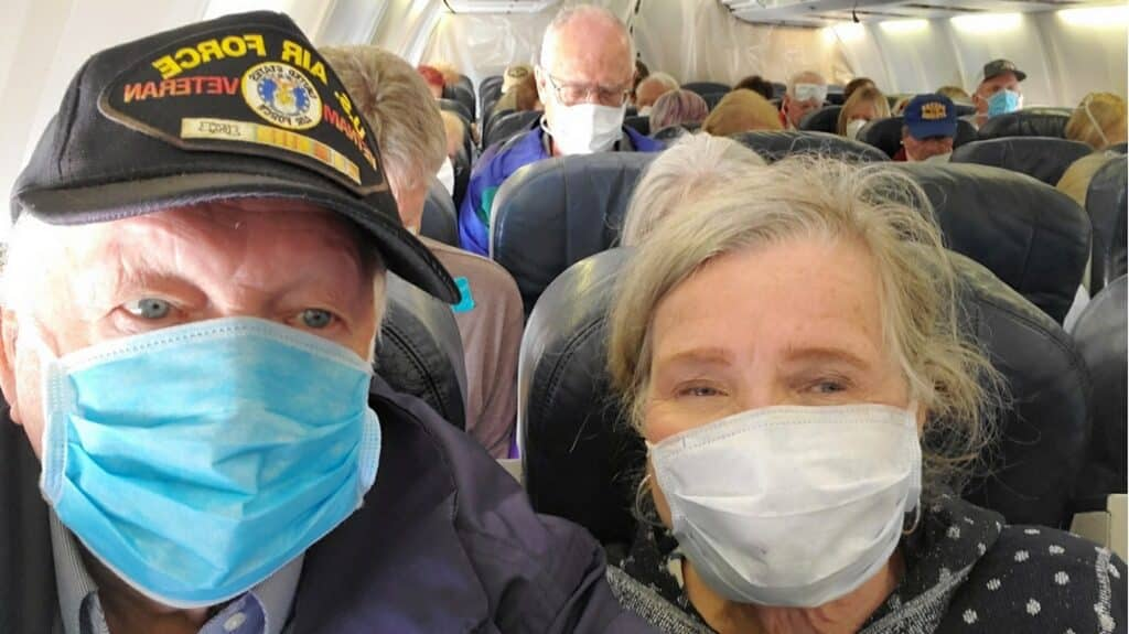 After they finally disembarked Thursday morning, they boarded a flight from Oakland to San Diego where they'll be quarantined for another two weeks. So far, they've shown no symptoms of corona virus, but they'll be quarantined anyway.