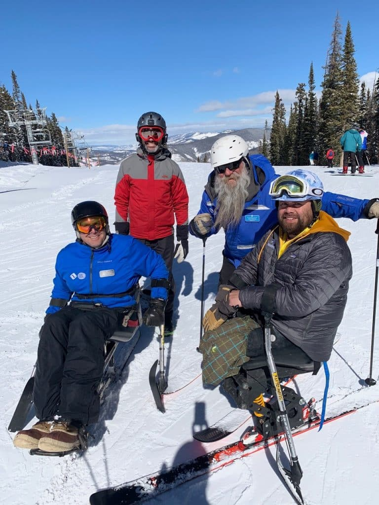 The Vail Veterans Programs brings wounded vets and their families out to Vail Mountain for four days of instruction.