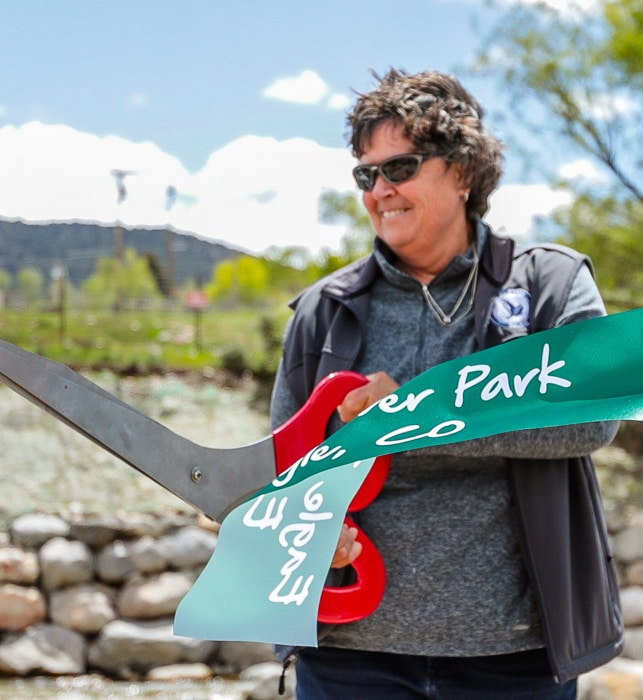 Anne McKibbin served a total of 16 years as Eagle's mayor, board of trustees member and planning commission member.