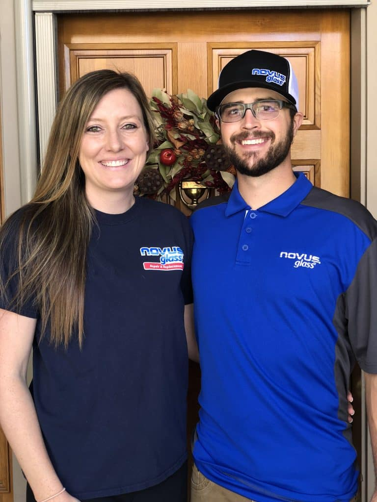 Britney and Matt Branson, owners of Novus Auto Glass, are offering auto glass repair and replacement, windshield camera re-calibrations and mobile and in-shop service.