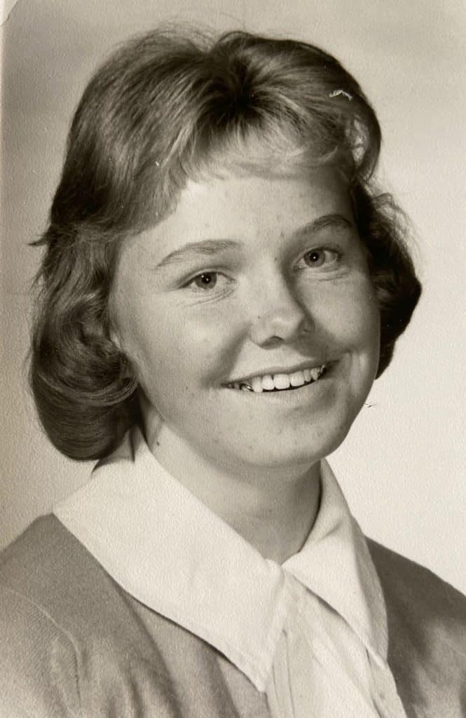 Whether she was a high school girl or a 70-year-old woman, Pam Schultz's smile remained the same.