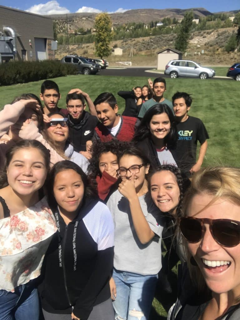 AVID, Advancement Via Individual Determination, helps motivated students work toward college and beyond. This is part of Battle Mountain High School's AVID class of 2020.