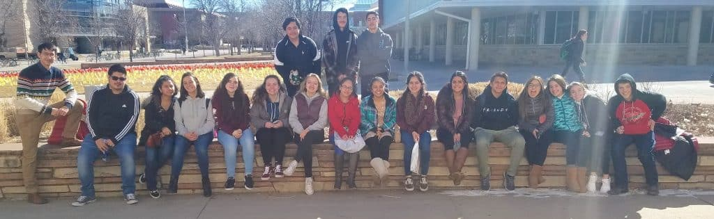 AVID students are generally first generation, and stick together with their teachers and each other for four years.