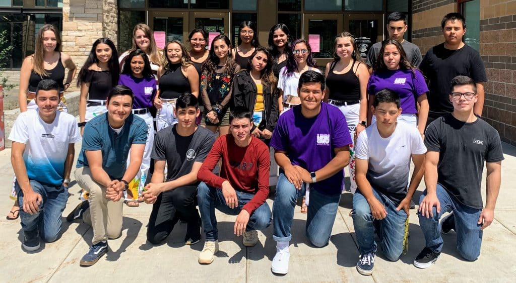 Battle Mountain High School's AVID Class of 2020 on the first day of the 2019-20 school year.