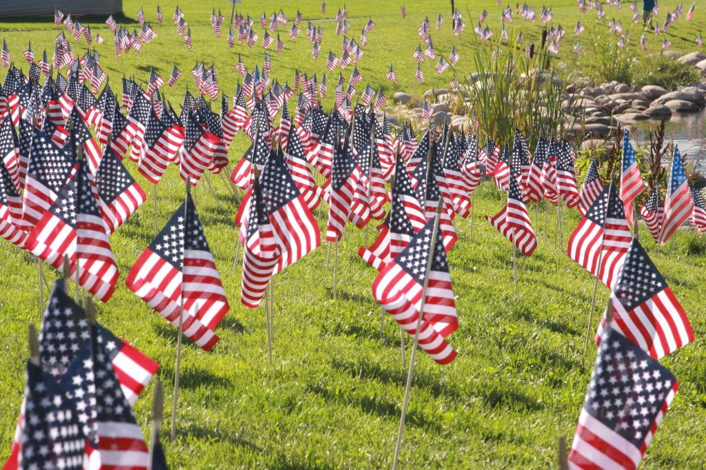 Monday's Memorial Day ceremony will be broadcast beginning at 4 p.m. Monday.