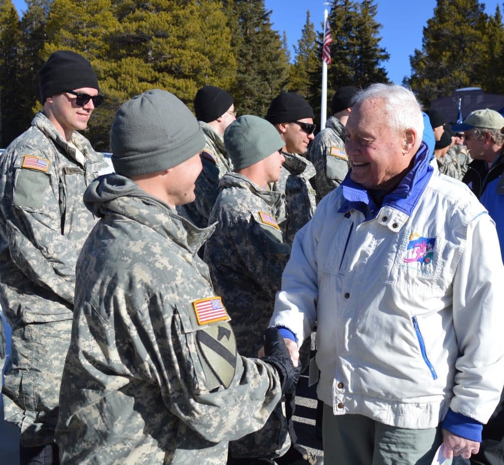 10th Mountain Division veteran Hugh Evans fought in Riva Ridge, one of America's most miraculous military victories.