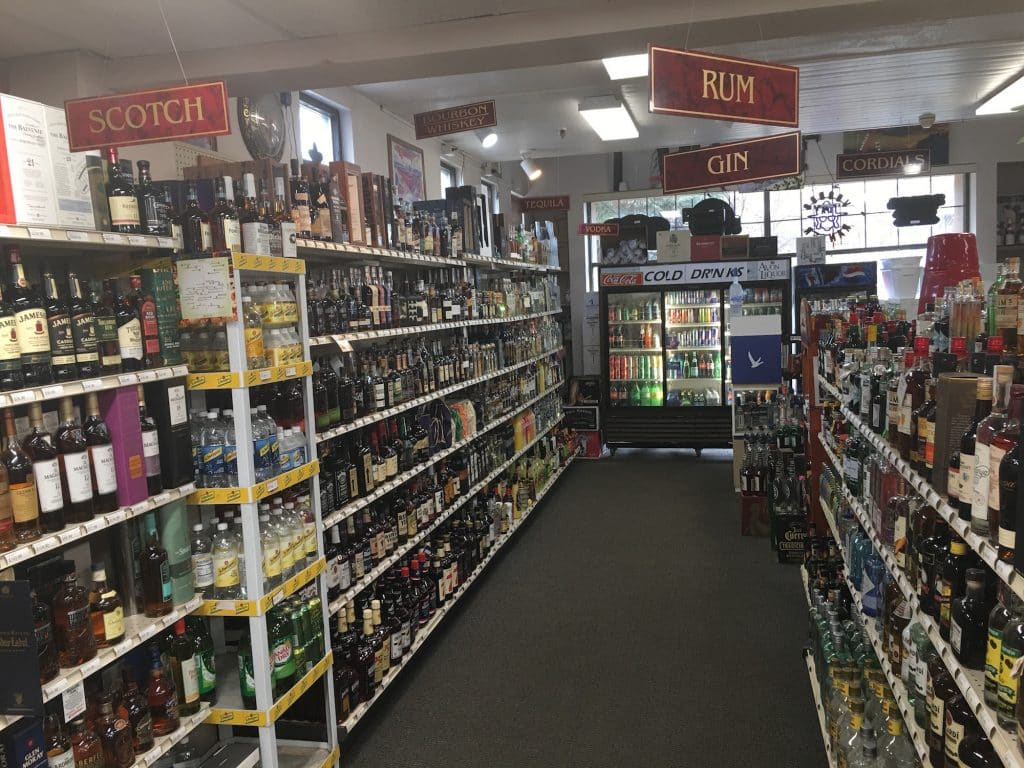 Liquor stores have been open during the COVID-19 pandemic, but Avon Liquor encourages customers to take advantage of the curbside pickup and delivery options.