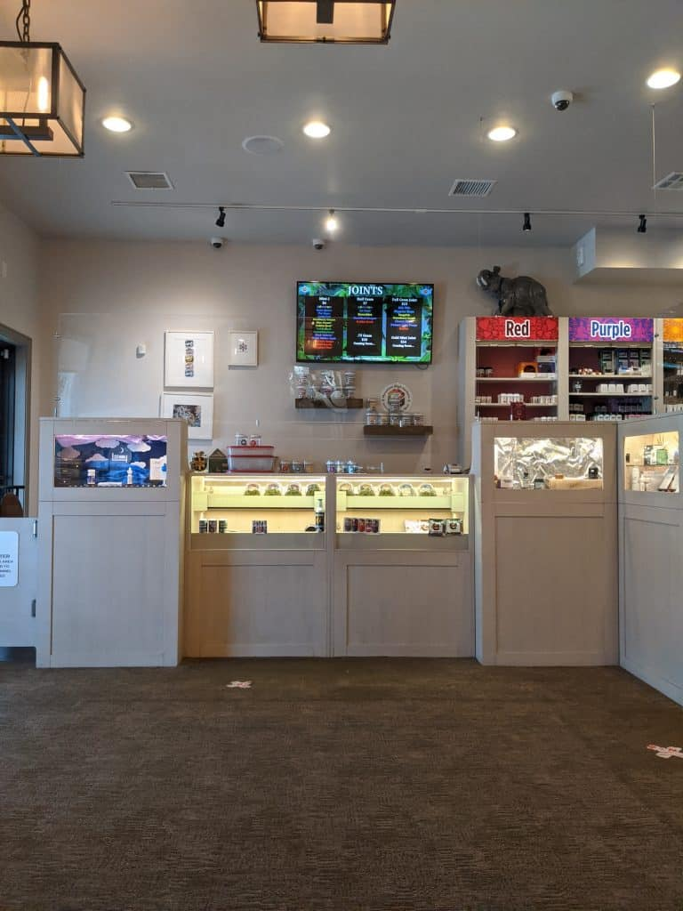 High Country Healing offers a selection of flower, concentrates, edibles and topicals.