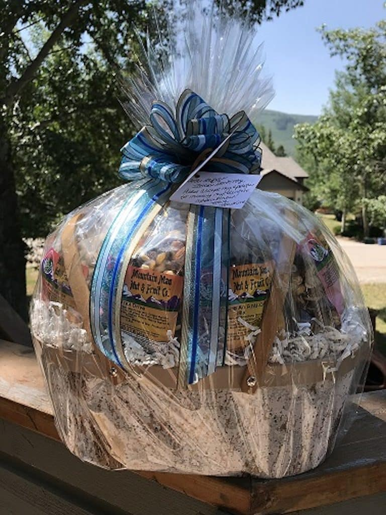 Mountain Man Fruit & Nut Co. not only offers high quality chocolates, nuts and dried fruits but also gift baskets for all occasions.