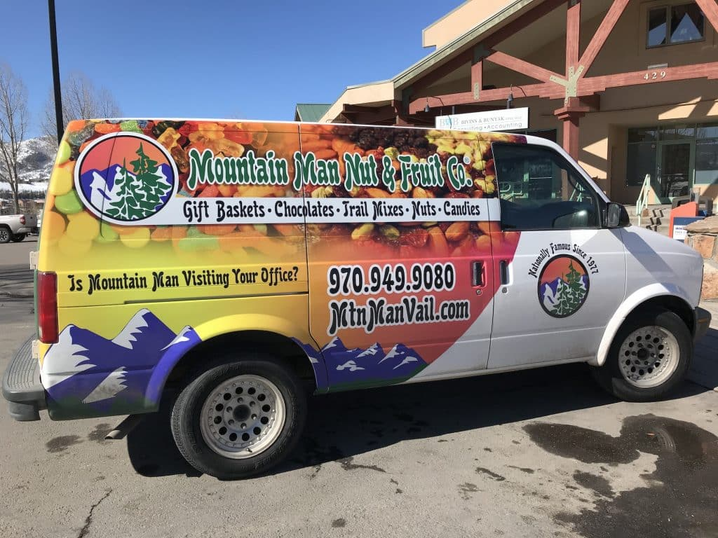 With the new Mountain Man van, Mountain Man Fruit & Nut Co. is bringing the goodies to their customers for free with no minimum orders.