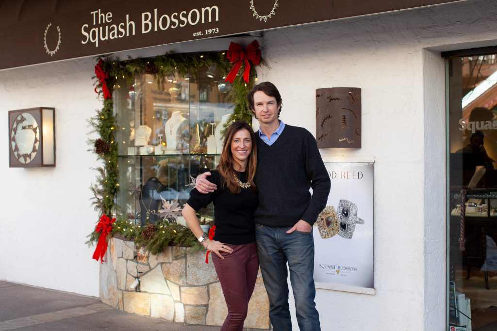 Owners Hilary and Kevin Magner opened their doors at the Squash Blossom in Vail Village on May 1.